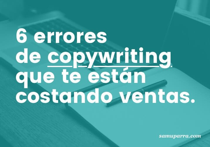 Errores copywriting