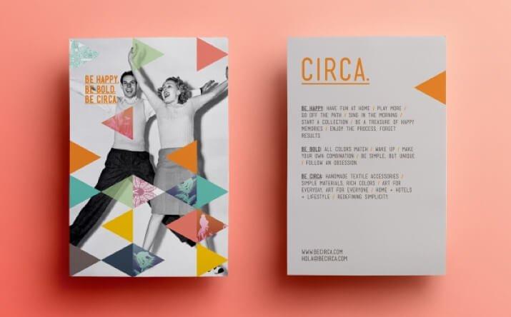 identidad visual de CIRCA