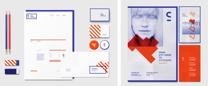 identidad visual de City Sense Platform