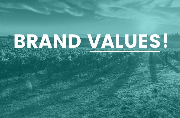valores de marca